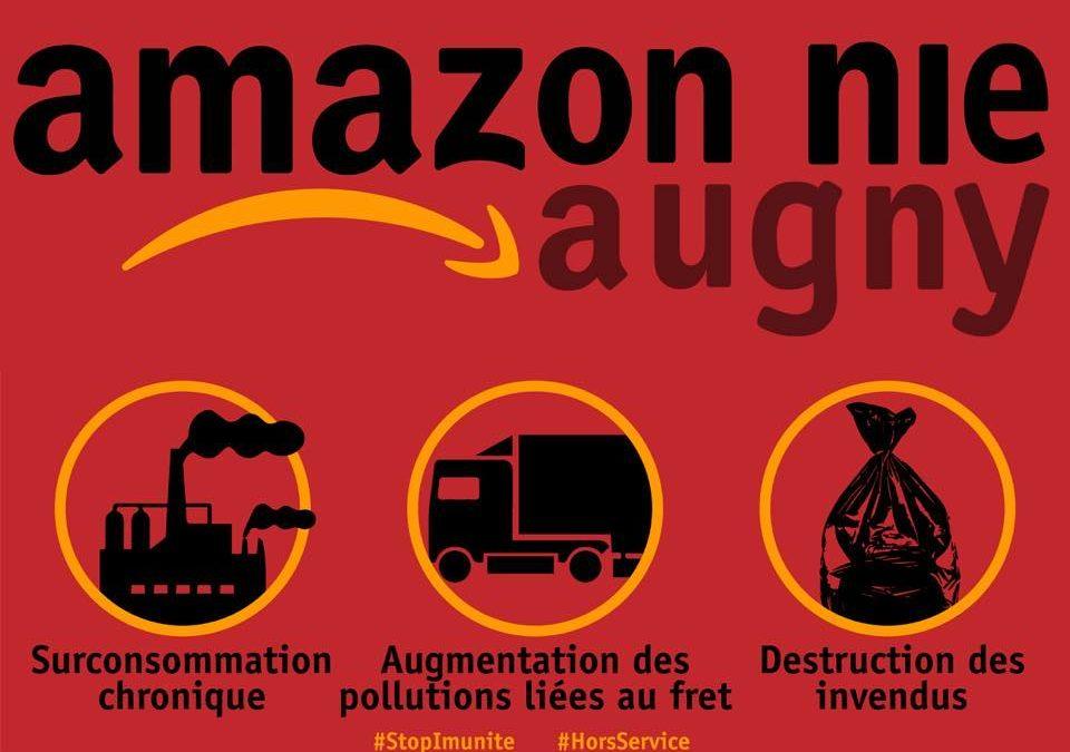 Contre l'implantation d'Amazon à Frescaty, nous continuons le combat !