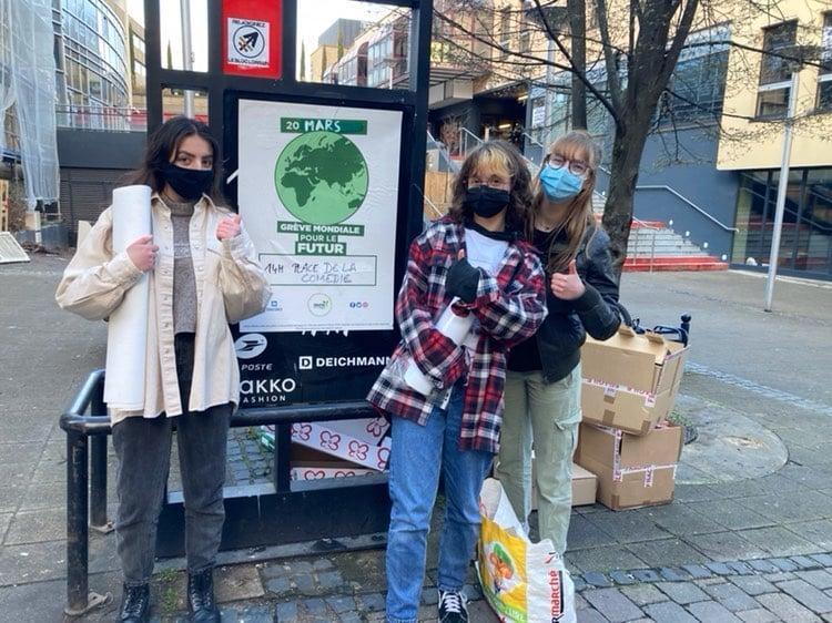 Youth for climate Metz prépare la Marche pour le climat du samedi 20 mars 2021